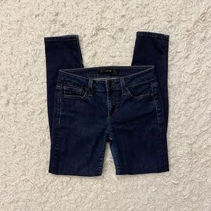 Joe's Dark Wash Jeans Skinny Ankle Fit Size 25